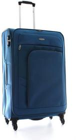 Dielle walizka podróżna duża na 4 kółkach 107L 650 - Niebieski 650/70 petrol