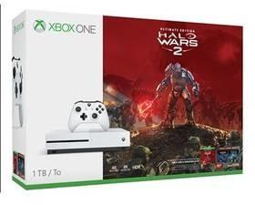 Microsoft Xbox One S Biały 1 TB + Halo Wars 2
