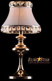 Eurostar Lampa stołowa ANDREA 1T GD/Biały 3271/1T -