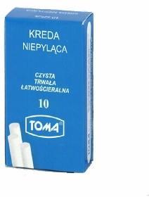 TOMA Kreda biała 10szt TO4599