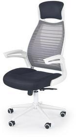 Halmar Fotel biurowy Franklin czarno-popielaty-biały V-CH-FRANKLIN-FOT)