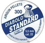 Opinie o Diabolo Wysokiej Jakości Śruty Półokrągłe, Moletowane kaliber 5,5mm (cal. 22)