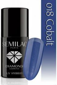 Semilac Lakier Hybrydowy 018 Cobalt