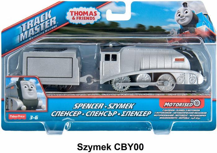 Fisher Price Tomek i przyjaciele Lokomotywy bohaterowie Tomek i przyjaciele BMK88