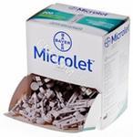 BAYER Lancet microlet x 200 szt
