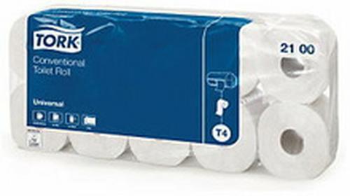Papier toaletowy małe rolki 2-warstwowy naturalny 60 rolek 2100
