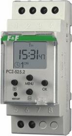 F&F Programator PCZ-525 zegar sterujący z programowalną przerwą nocną jednokanał