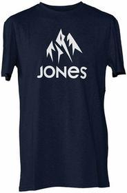 Jones T-Shirt - Basic Tee granatowy Heather (NAVY HEA) rozmiar: L