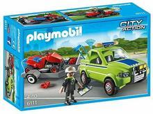 Playmobil 6111 City Action - Pojazd serwisowy z kosiarką