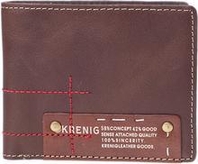 Krenig portfel męski 15014-2 brązowy