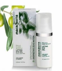 MACROVITA Eye contour gel Liftingujący żel pod oczy z bio-oliwą z oliwek i olejkiem migdałowym 30 ml