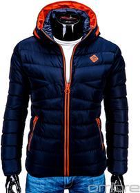 Ombre Clothing KURTKA C208 - GRANATOWA