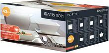 Ambition Komplet obiadowy Porto 42-elementowy