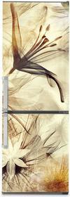 Oklejaj Naklejka na lodówkę - Kwiaty vintage 0123 - Naklejka