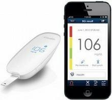 iHealth Wireless Glucose Meter - Elektroniczny glukometr bezprzewodowy iOS (Blue