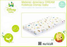 Hevea Dzieciecy Materac piankowy Dream Disney Baby 60x120