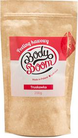 Body Boom peeling kawowy TRUSKAWKA 200g