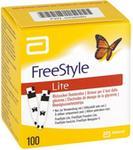 Abbott Freestyle Lite paski testowe bez kodowania GmbH & Co. KG Di 00436080