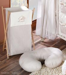 Mamo-Tato Kosz na bieliznę Miś z serduszkiem w brzie