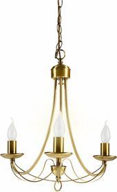 Candellux Żyrandol LAMPA wisząca OPRAWA świecznik DO salonu MUZA 33-69163 Patyna