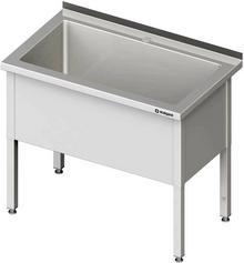 Stalgast Stół z basenem jednokomorowym spawany 700x700x850 mm h=400 mm 981367070S