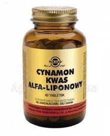SOLGAR CYNAMON KWAS ALFA-LIPONOWY - 60 tabl. 8662101