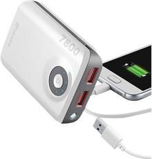 MAH Powerbank Cellularline Freepower Dual FREEPOWER7800W 7800 Li-Ion biały