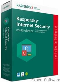 Kaspersky Internet Security 2017 1PC / 1Rok Kontynuacja
