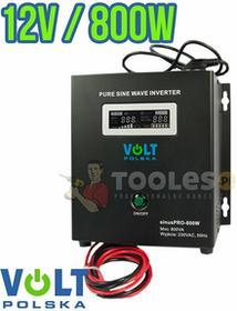 VOLT Przetwornica napięcia UPS SINUSPRO-800 W (12 V/800W) POLSKA