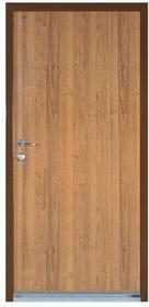Witex Drzwi wejściowe stalowe  Super-Lock WSL-1000 80 prawe orzech