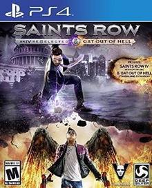Saints Row 4: Re-Elected + Gat Out of Hell First Edition PS4