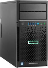 Serwer HPE ProLiant ML30 Gen9 E3-1220v5, 1 procesor, 8 GB-U, napędy SATA 2 TB (2×1 TB), zasilacz 350 W / GO 831068-425