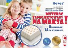 Hevea Junior Max 180x80