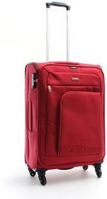Dielle walizka podróżna średnia 71L na 4 kółkach 650 - Czerwony 650/60 rosso