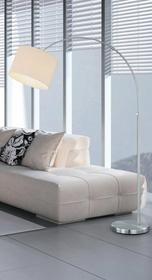 Trio T R I O Lampa podłogowa 1 x 60W E27 – Biały (461100101) –