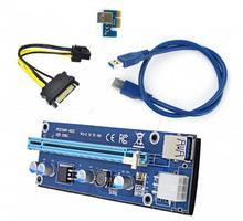 Riser PCI-Express 1x 16x USB 30 6pin Sata