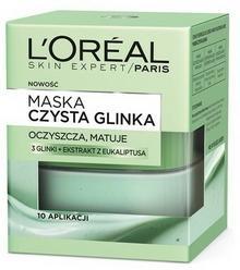 Loreal Paris Skin Expert Czysta glinka maska oczyszczająca 50 ml
