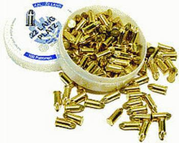 Naboje hukowe 6 mm długie 100 szt.
