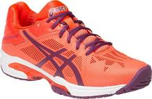Asics Buty tenisowe Gel-Solution Speed 3 - flash coral/plum/flash coral