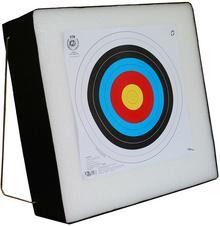 TM Mata łucznicza piankowa 60x60x10 cm ze stelażem (065-193)