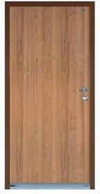 Witex Drzwi wejściowe stalowe  Super-Lock WSL-1000 90 lewe orzech