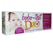 Diagnosis BOBO-TEST DUO Test ciążowy strumieniowy + Test ciążowy płytkowy 1 szt 9070908