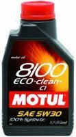 Motul 8100 Eco-clean+ C1 5W-30 1L