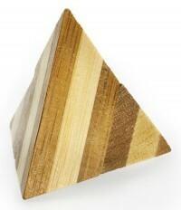 Eureka Łamigłówka 3D BAMBOO Pyramid poziom 1/4