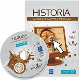 Oprogramowanie do tablic interaktywnych WSiP HISTORIA klasy I-III, gimnazjum, CD