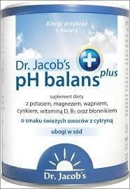 Dr Jacobs pH Balans plus proszek zasadowy 300 g 14