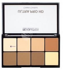 Makeup Revolution HD Pro Powder Contour paleta do konturowania twarzy w kremie Light Medium 20g