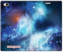 Etuo.pl Flex Book Fantastic - Xiaomi Redmi 4A - etui na telefon Flex Book Fantastic - kosmos ETXM451FBFCFB142000