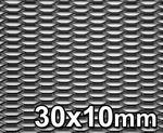 Opinie o GJK Styling Siatka tuningowa Czarna 30mm x 10mm 100cm x 40cm BL 30X10 40X100