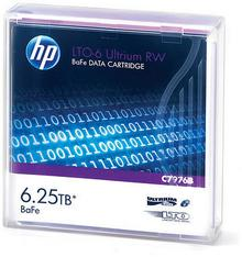 HPE HPE LTO-6 6.25TB BaFe RW Data Cartridge C7976B